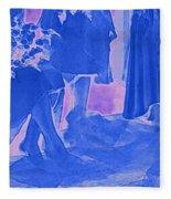 Something Old Something New Something Borrowed Something Blue By Jrr Fleece Blanket