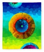 Somewhere Over The Rainbow 2 Fleece Blanket