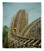 Son Of Beast Roller Coaster Fleece Blanket