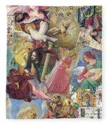 Song Of Angels Fleece Blanket