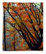 Song Of Autumn Fleece Blanket