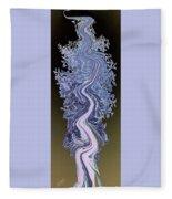 Song - Yucca Flower Fleece Blanket