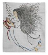 Songs Of Angels Fleece Blanket