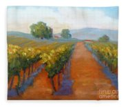 Sonoma Vineyard Fleece Blanket