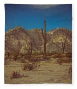 Sonoran Desert Fleece Blanket
