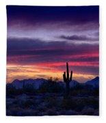 Sonoran Desert Skies  Fleece Blanket