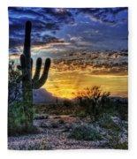 Sonoran Sunrise  Fleece Blanket
