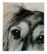 Sophia's Eyes Fleece Blanket