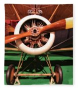 Sopwith Camel Airplane Fleece Blanket