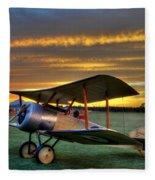 Sopwith Sunset Fleece Blanket
