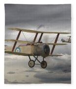 Sopwith Triplane Fleece Blanket