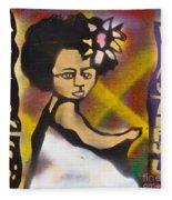 Soul Flower 2 Fleece Blanket
