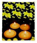 Soul Meditative Pop Art Fleece Blanket