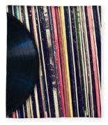 Sound Of Vinyl Fleece Blanket