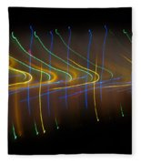 Soundcloud. Dancing Lights Series Fleece Blanket