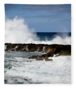 Sounds Of Hawaii Fleece Blanket