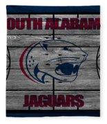 South Alabama Jaguars Fleece Blanket