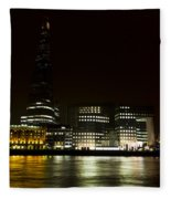 South Bank London Fleece Blanket