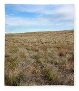 South-central Washington Grassland Fleece Blanket