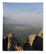 South Fork Fire Fleece Blanket
