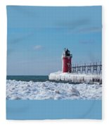 South Haven Ice Fleece Blanket