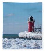 South Haven Ice Fleece Blanket