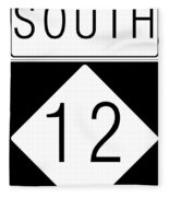 South Nc 12 Fleece Blanket