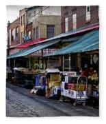 South Philly Italian Market Fleece Blanket