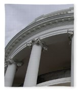 South Portico Of The White House Fleece Blanket