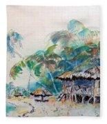 South Sea Home Fleece Blanket
