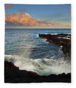 South Shore Spray Fleece Blanket