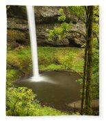 South Silver Falls 2 Fleece Blanket