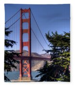 South Tower Fleece Blanket