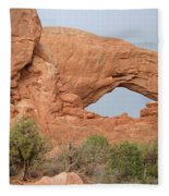 South Window Arches National Park Fleece Blanket