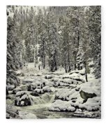 South Yuba River Fleece Blanket