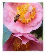 Southern Bee Fleece Blanket