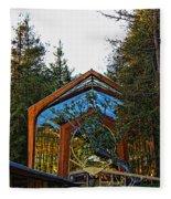 Southern California's Wafarers Chapel 3 Fleece Blanket
