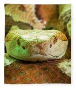 Southern Copperhead Fleece Blanket
