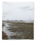 Southern Ebb And Flow Fleece Blanket
