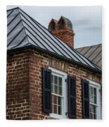 Southern Rooftops Fleece Blanket