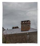 Southern Sky Line Fleece Blanket