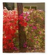 Southern Spring Color Fleece Blanket