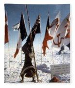 Southpole-antarctica-photos-2 Fleece Blanket
