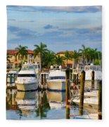 Soverel Harbour Marina Fleece Blanket