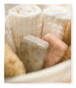 Spa Basket With Soaps Fleece Blanket