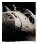 Space Shuttle Atlantis Fleece Blanket