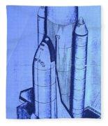 Space Shuttle Fleece Blanket