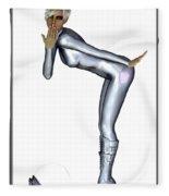 Spacegirl 6... Fleece Blanket