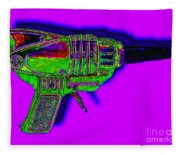 Spacegun 20130115v4 Fleece Blanket