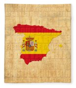 Spain Fleece Blanket